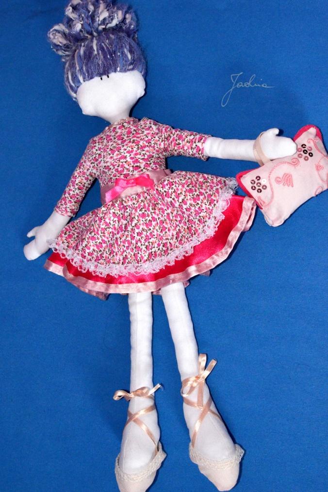 Baletnica w nowej sukni
