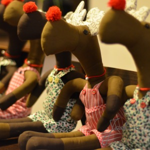 świąteczne stroje Rudolfów